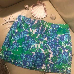 Lilly Pulitzer skirt in purple and green size 6